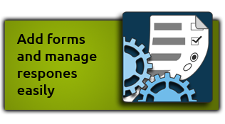 Add forms and manage responses