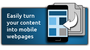 Mobile website module